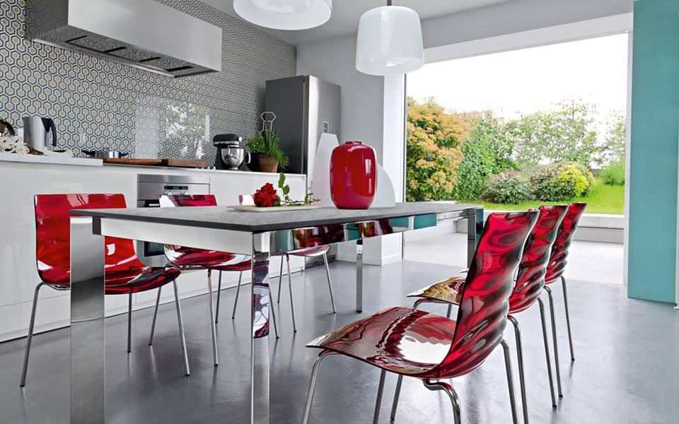 Offerte showroom: tavoli e sedie firmati Calligaris e ...