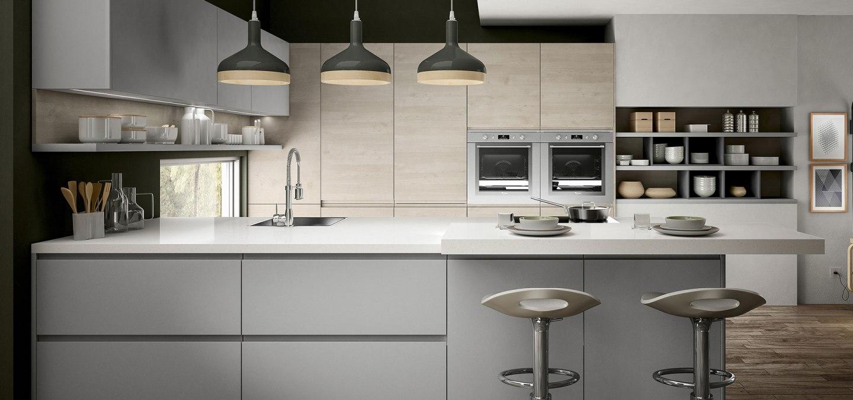 Cucina senza maniglia: belle, pratiche e di tendenza ...